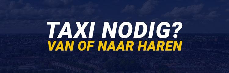 Taxi Haren Groningen